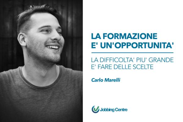 Carlo Marelli, docente e professionista del settore del marketing digitale