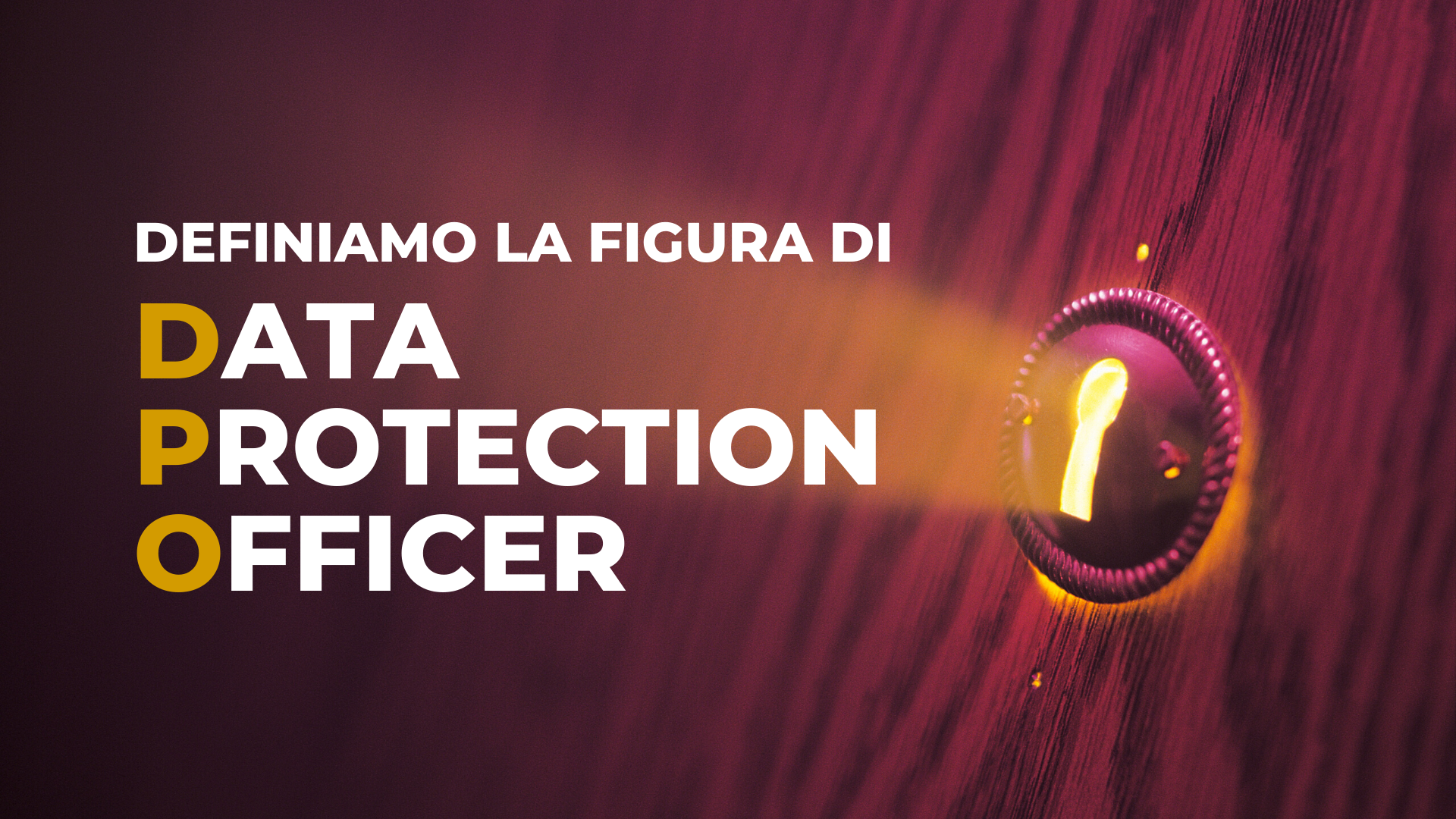 Definiamo la figura di Data Protection Officer